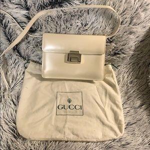 Authentic Vintage Gucci Ivory Bag